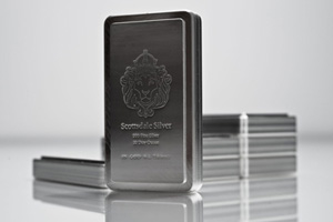 10 oz Scottsdale Stacker Silver Bar