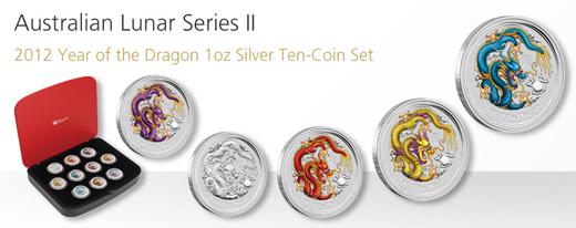 Lunar Dragon Set of 10