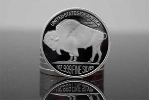 1 oz Buffalo Round