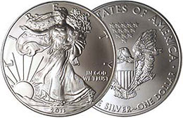 American Eagles Silver Bullion Coin
