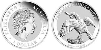 Australia Kookaburra Silver Bullion Coin
