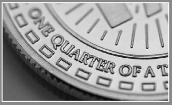 Scottsdale Silver Quarter Oz Round