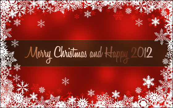 Merry Xmas & Happy New Year 2012!
